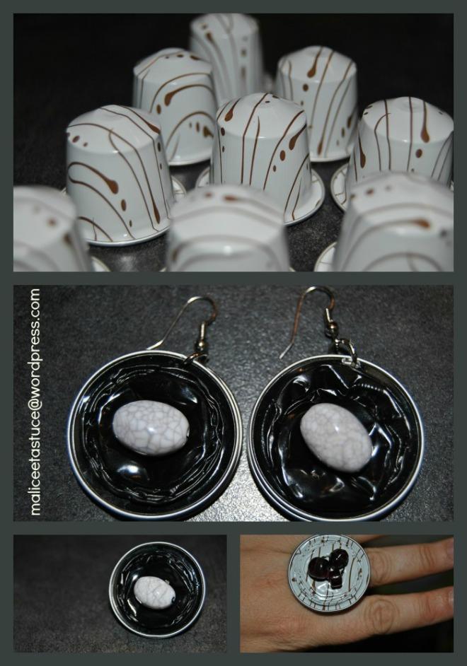 Bijoux avec des capsules nespresso - Que faire avec des capsules de nespresso ...