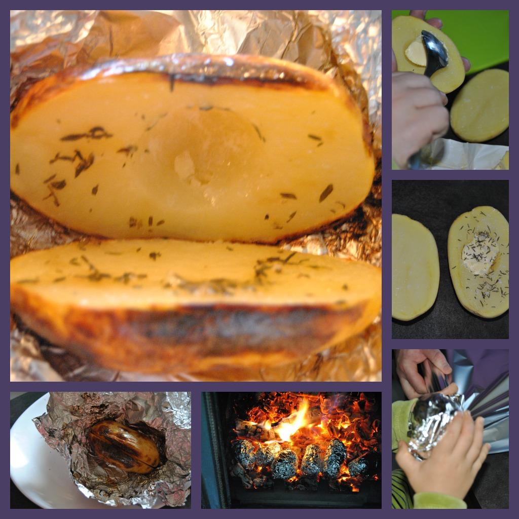 Pommes de terre la braise - Pommes de terre a la braise ...