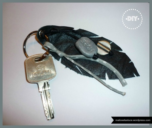 porte clef Plume