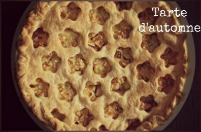 tarte aux pommes f