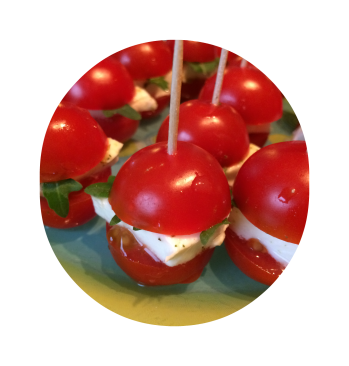 burger tomate cerise